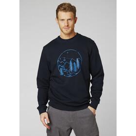 Helly Hansen F2F Baumwollsweater Herren navy